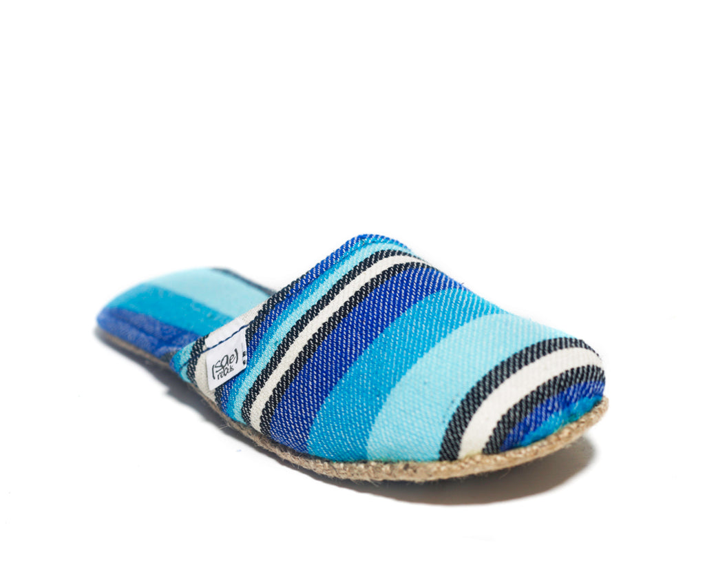 Ocean Blue Stripes x Jute Sole