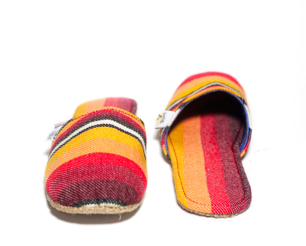 Sunset Red Stripes x Jute Sole