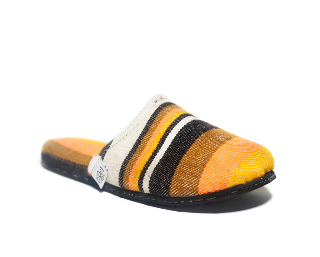 Yellow Stripes x Tire Sole