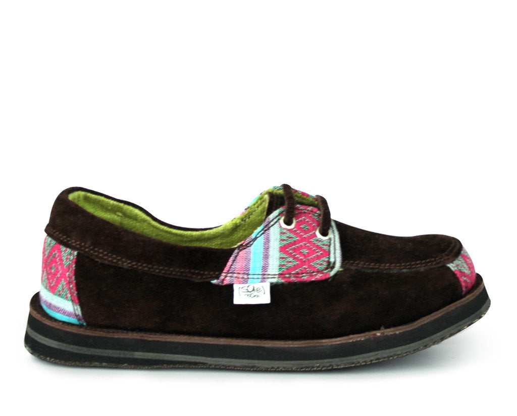 solerebels Brown riff TALENT Slip-Ons