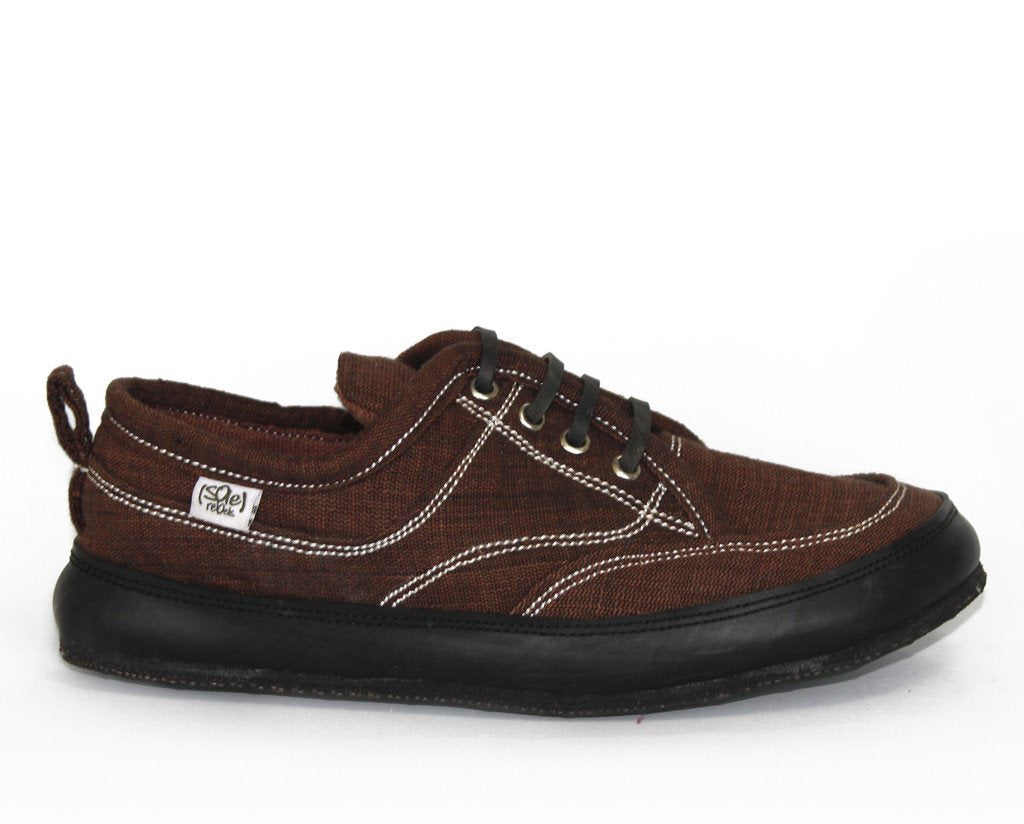 solerebels Chestnut Brown runAROUND FREEDOM 3 Lace-Ups