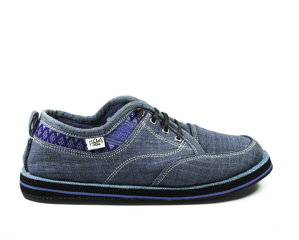 solerebels Denim Blue runAROUND FREEDOM bilt Lace-Ups