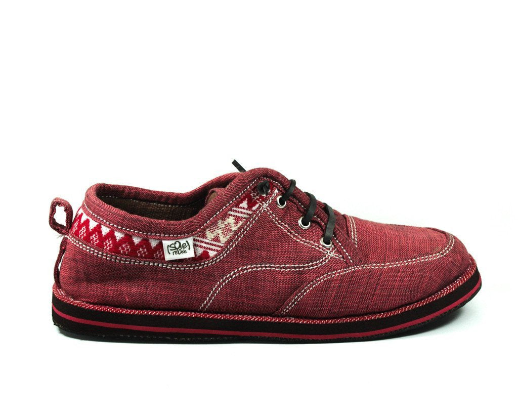 solerebels Cherry Red runAROUND FREEDOM bilt Lace-Ups