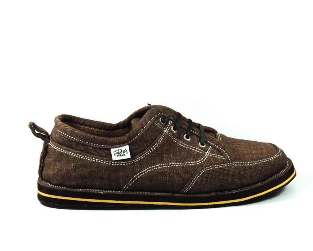 solerebels Dark Brown runAROUND FREEDOM 4 Lace-Ups
