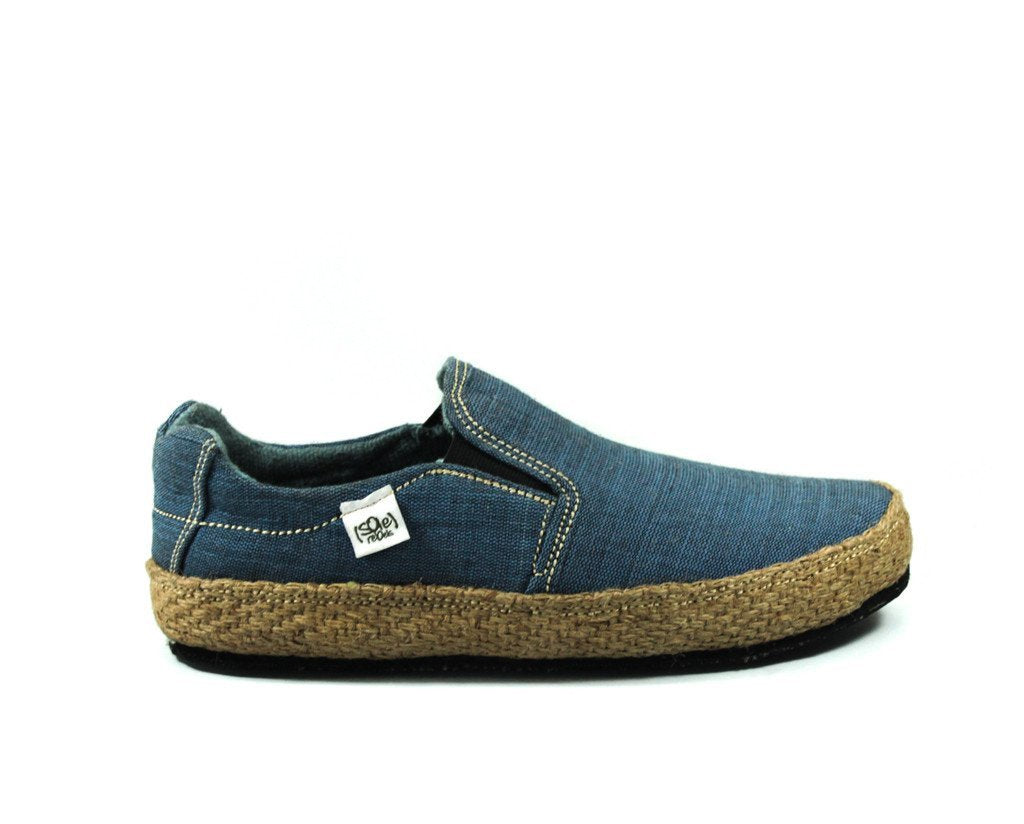 solerebels Denim Blue keepOn mSh x kBA Slip-Ons