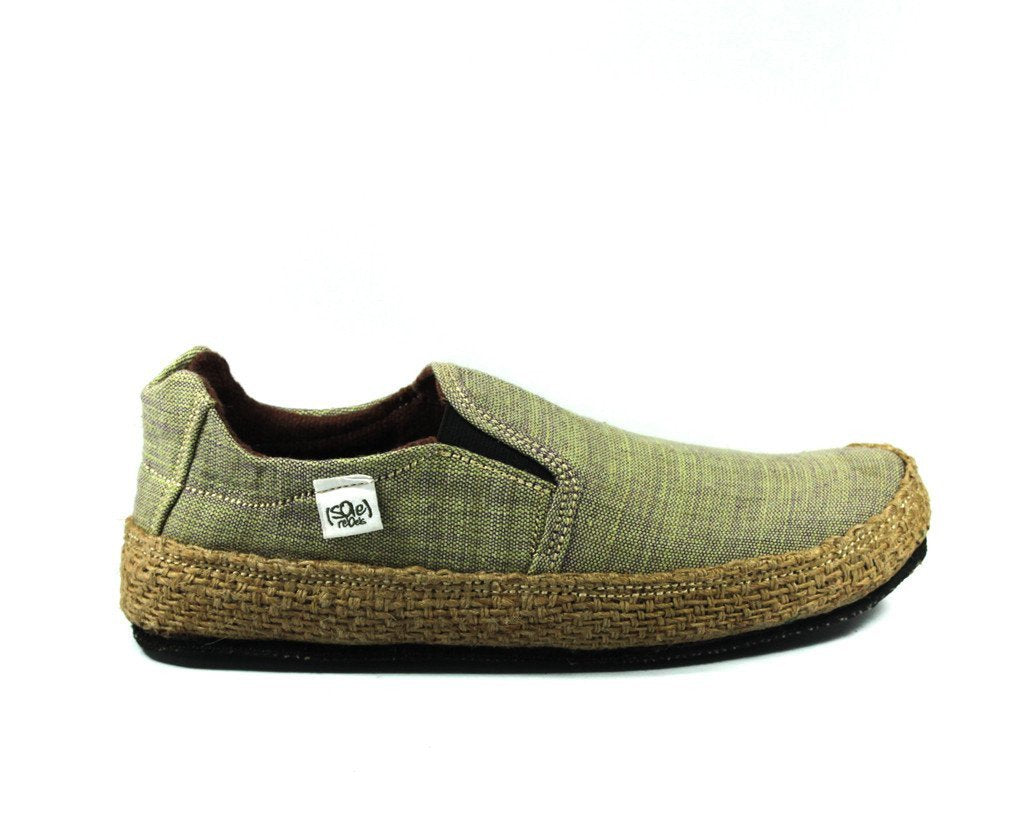 solerebels Sage Green keepOn mSh x kBA Slip-Ons