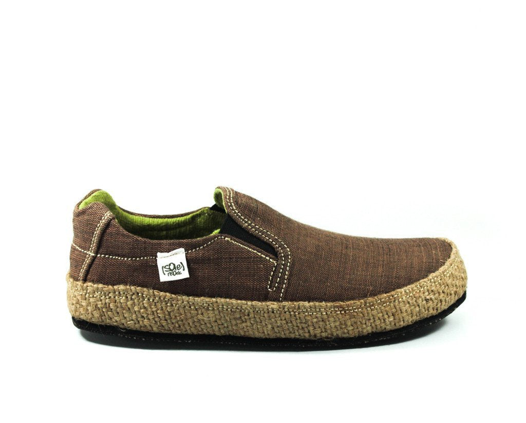 solerebels Dark Brown keepOn mSh x kBA Slip-Ons