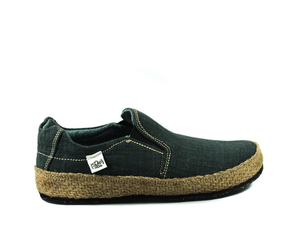 solerebels Charcoal Grey keepOn mSh x kBA Slip-Ons