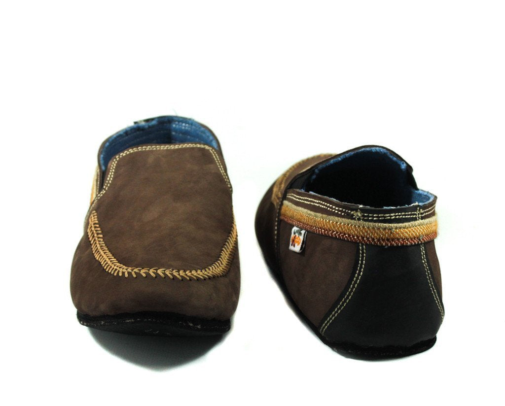 Chestnut Brown Suede