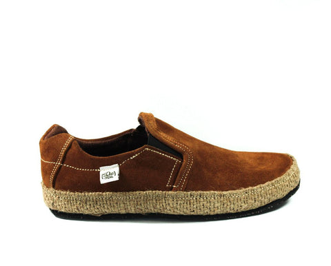 Caramel Brown Suede