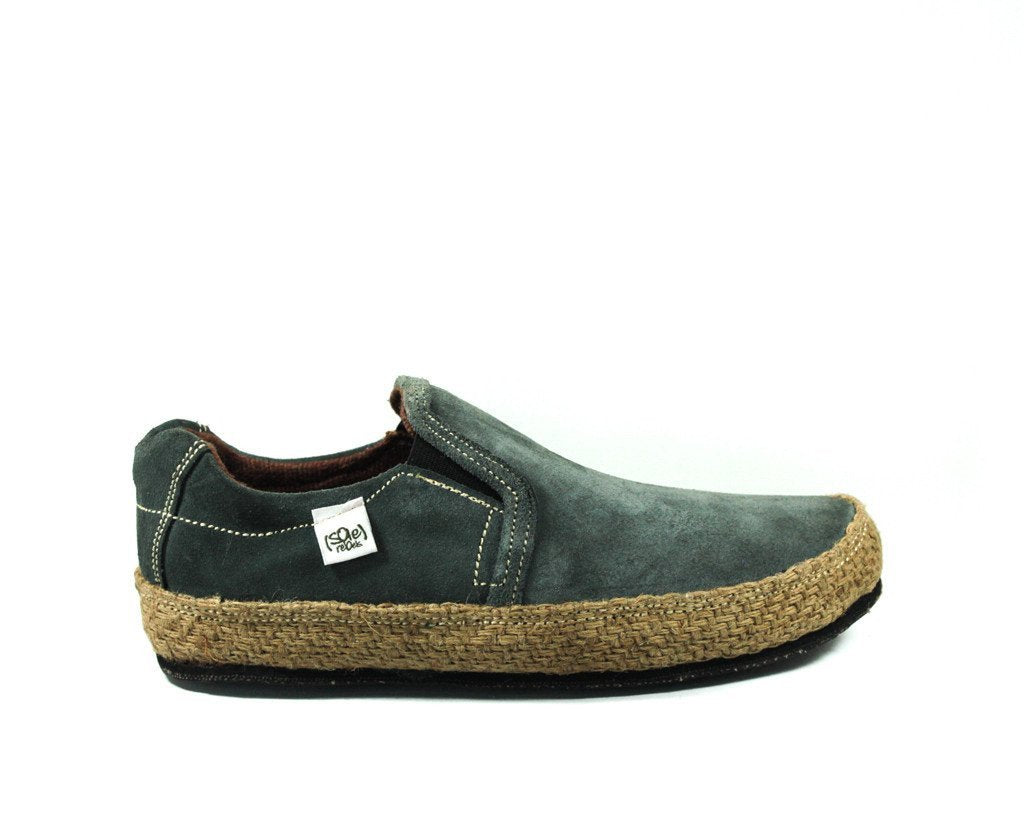 solerebels Slate Grey Suede keepON kBa Slip-Ons
