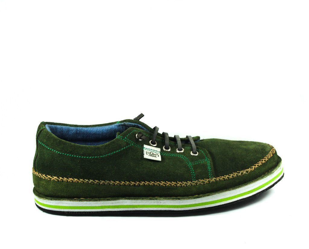 Forest Green Suede