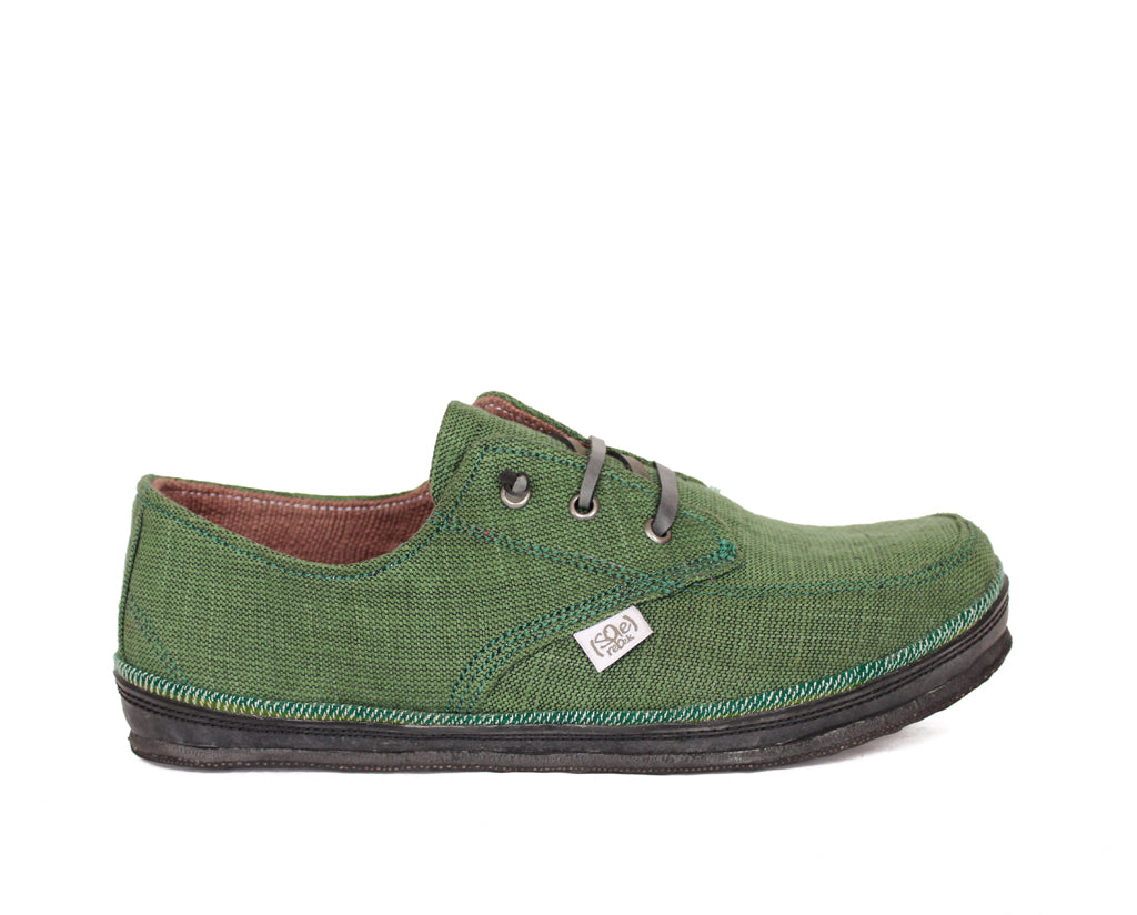 solerebels Dark Green runAROUND legend 1 Lace-Ups
