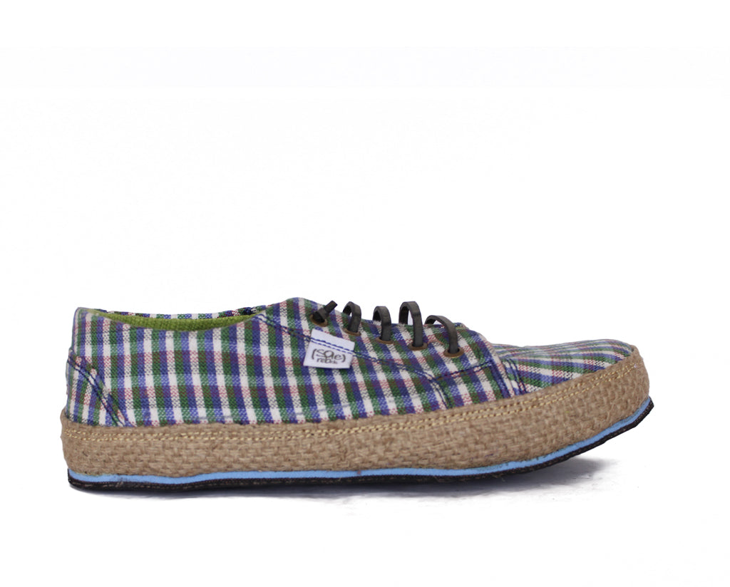 solerebels Blue urban runner  the weave Lace-Ups
