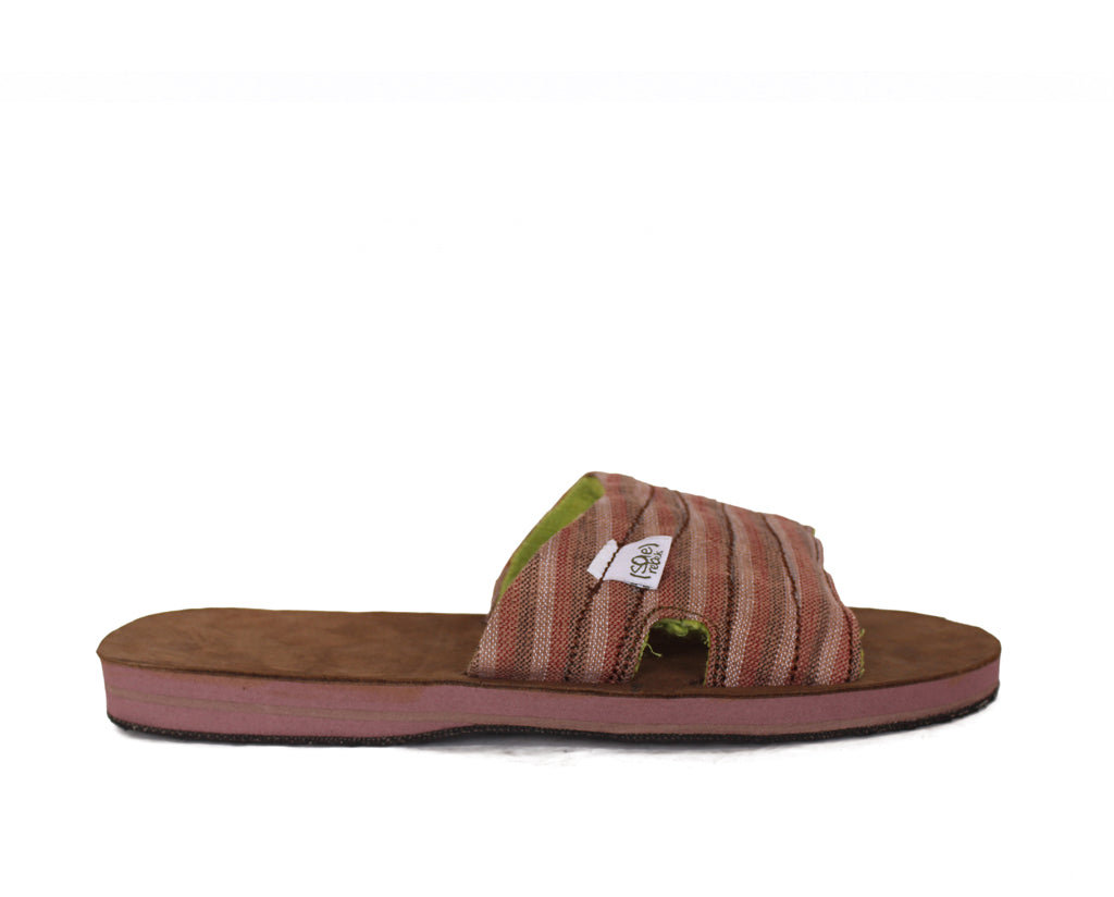 solerebels Brown zuckIT  lounger Sandals