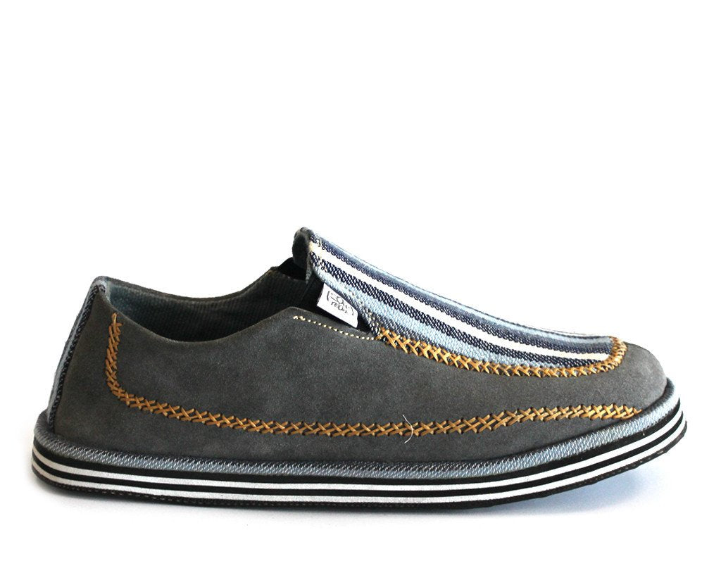 solerebels Grey LUXE reimagined Slip-Ons