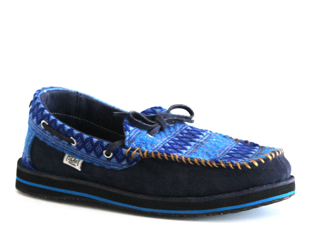 solerebels Azure Blue riff TALENT ed Slip-Ons