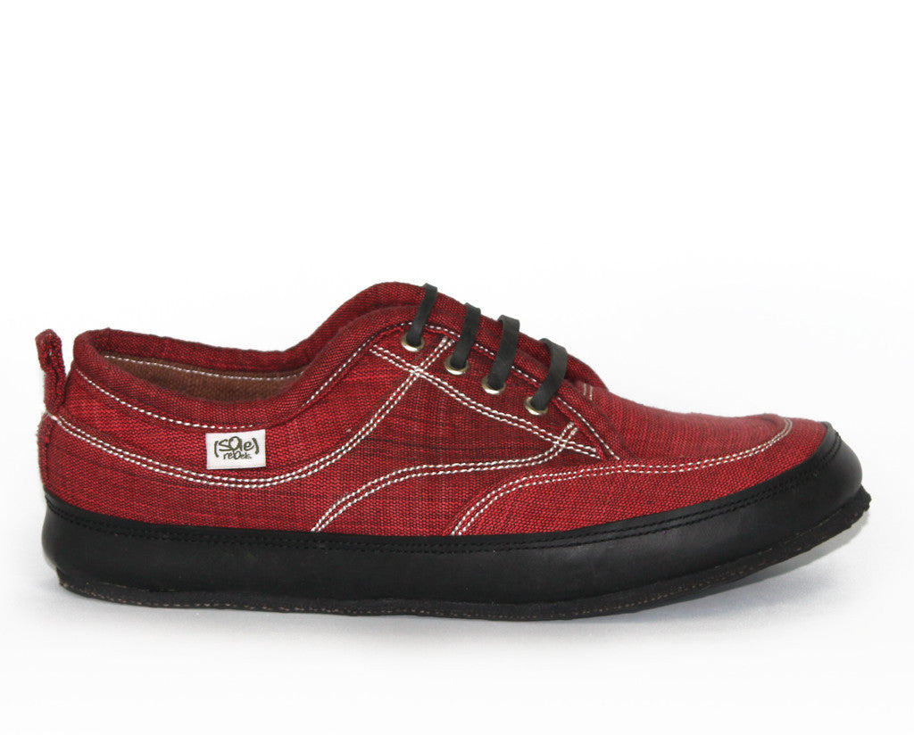 solerebels Berry red runAROUND FREEDOM 3 Lace-Ups