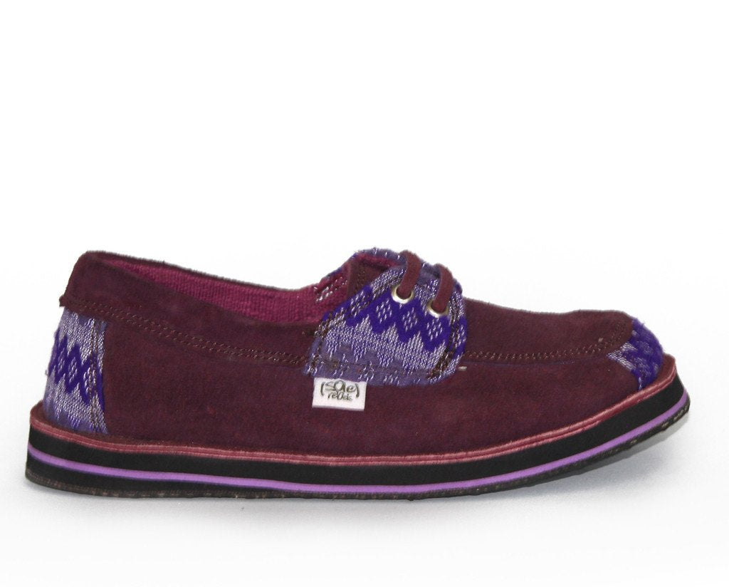 solerebels Plum Purple riff TALENT 2 Slip-Ons