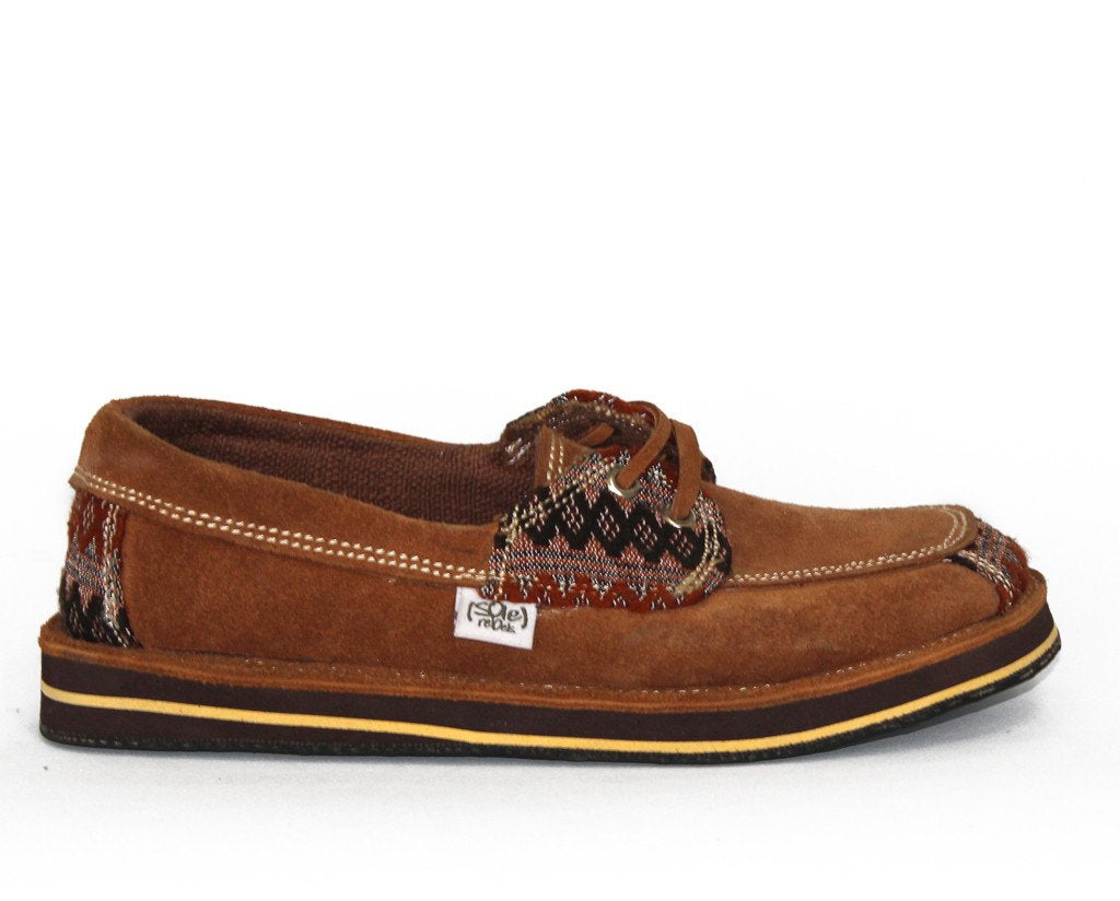 solerebels Caramel Brown riff TALENT 2 Slip-Ons