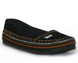 tooTOOS bLk in pine green chevron