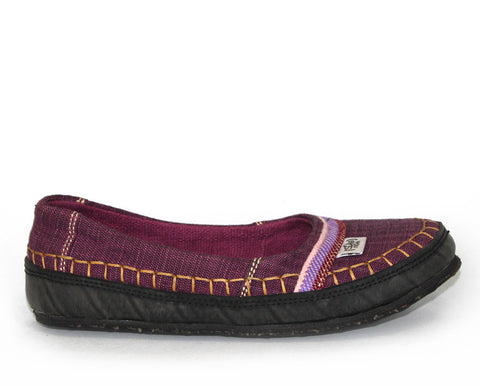 tooTOOS wrapped mSh in plum purple