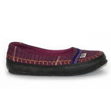 tooTOOS wrapped mSh in plum purple chevron