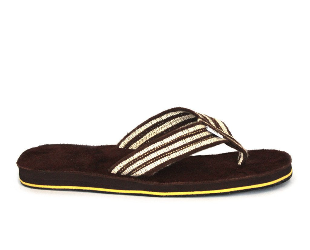 solerebels Chestnut Brown Suede real deal PLUS Sandals