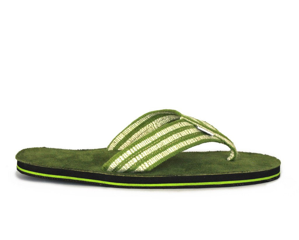 solerebels Forest Green Suede real deal PLUS Sandals
