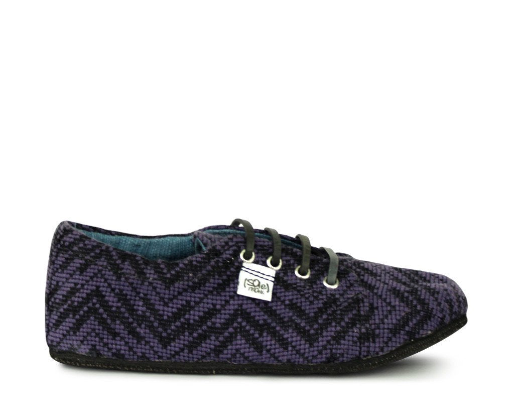 solerebels Purple runAROUND loveIT Lace-Ups
