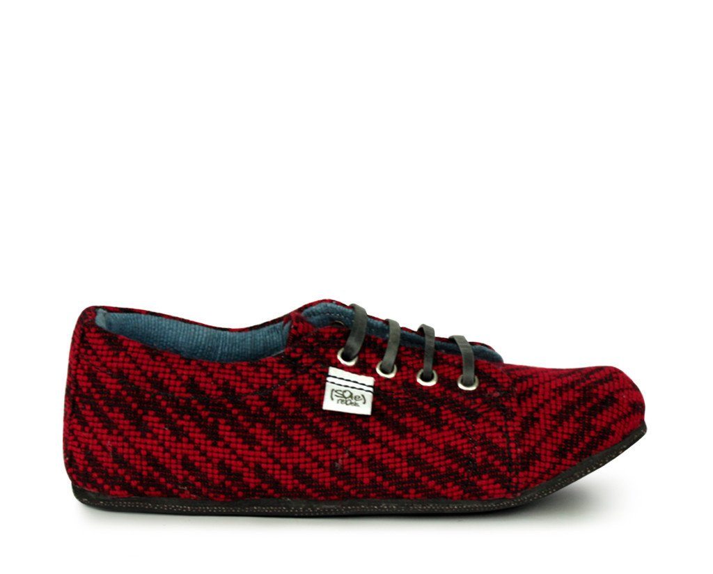 solerebels Red runAROUND loveIT Lace-Ups