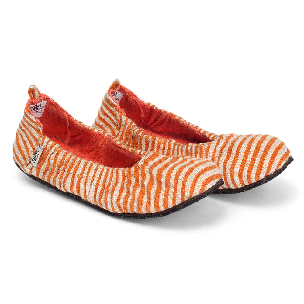 solerebels Orange Stripe tooTOOs supah FLEX tooTOOs