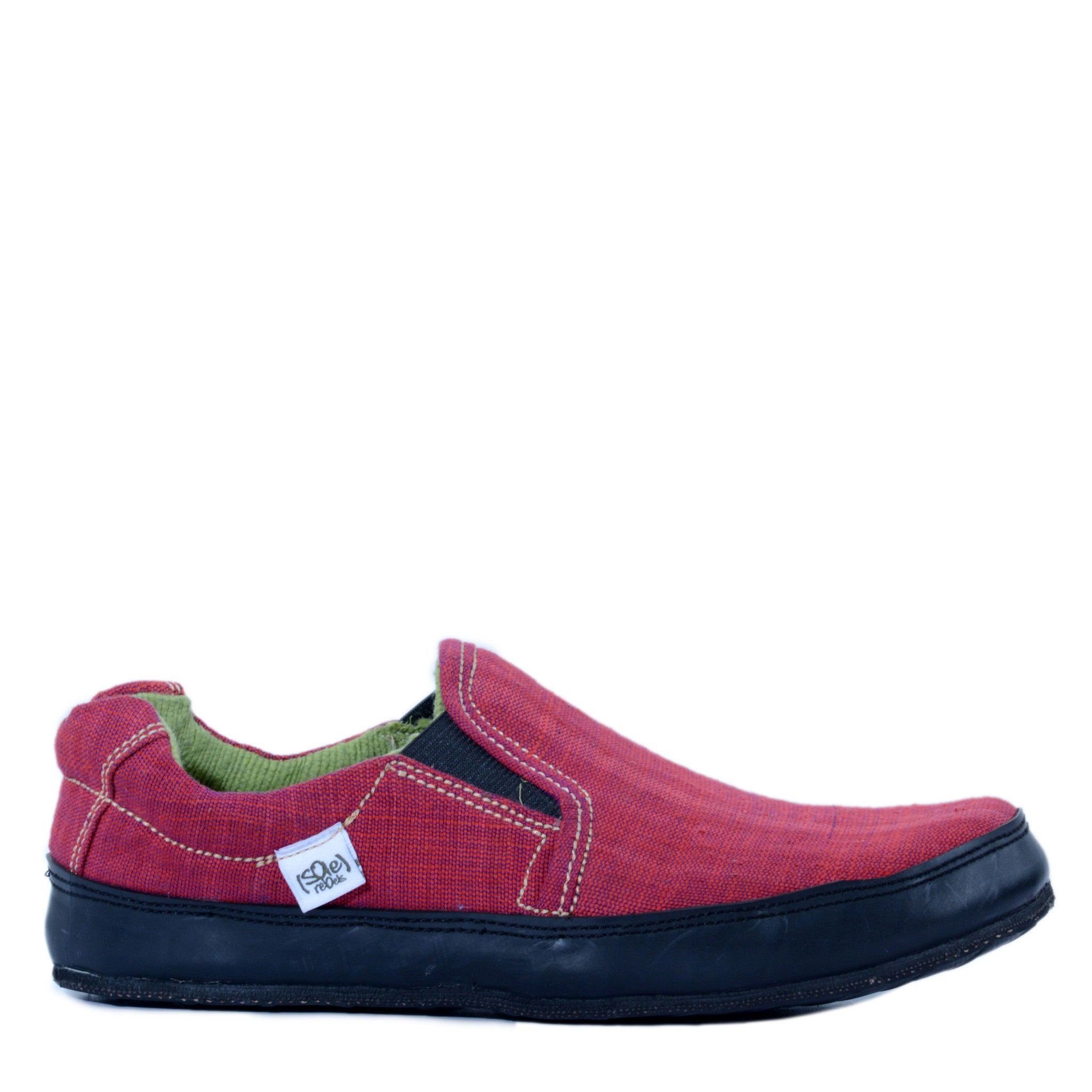 solerebels red keepOn mSh 2 Slip-Ons