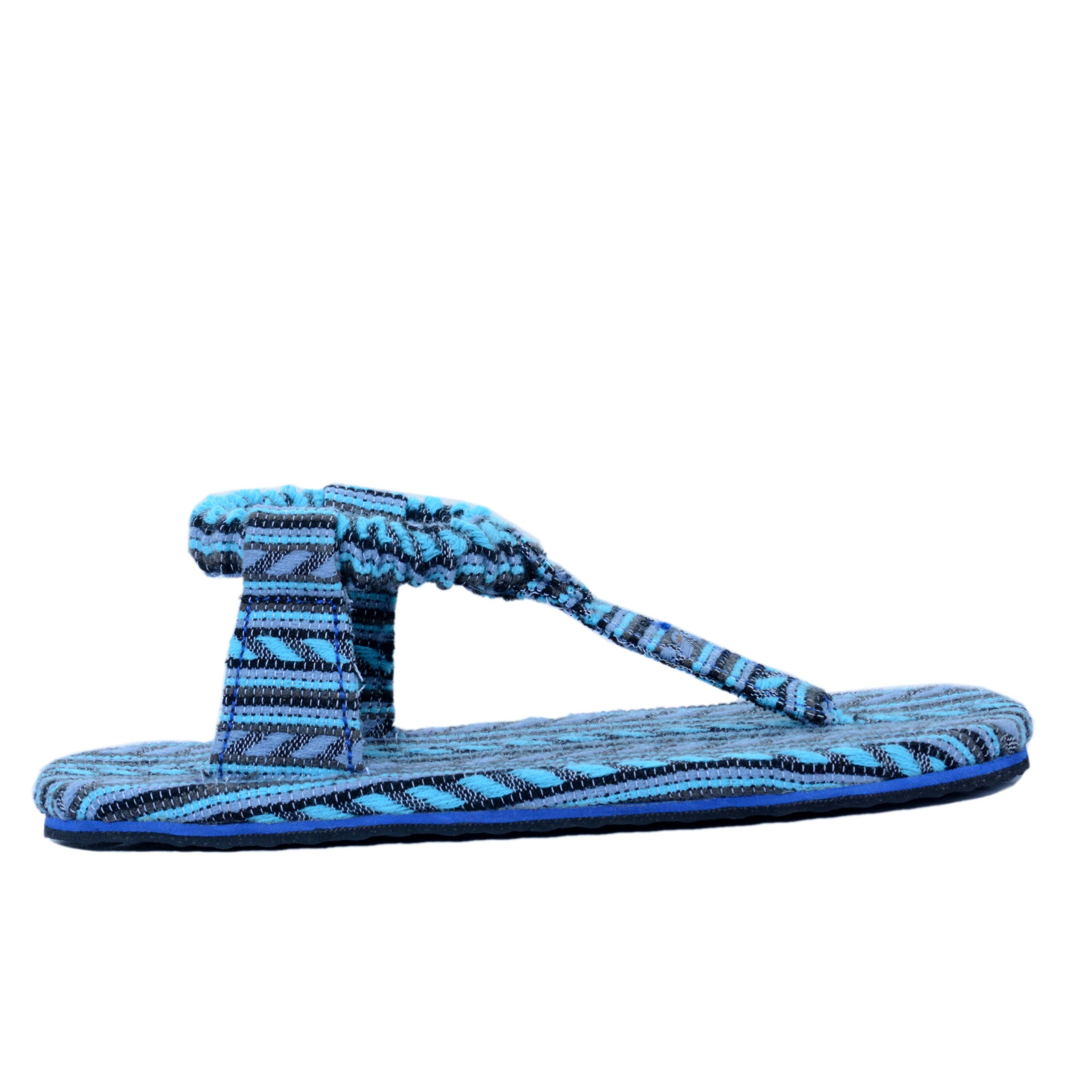solerebels Light Blue loop FREEDOM fweeky Sandals