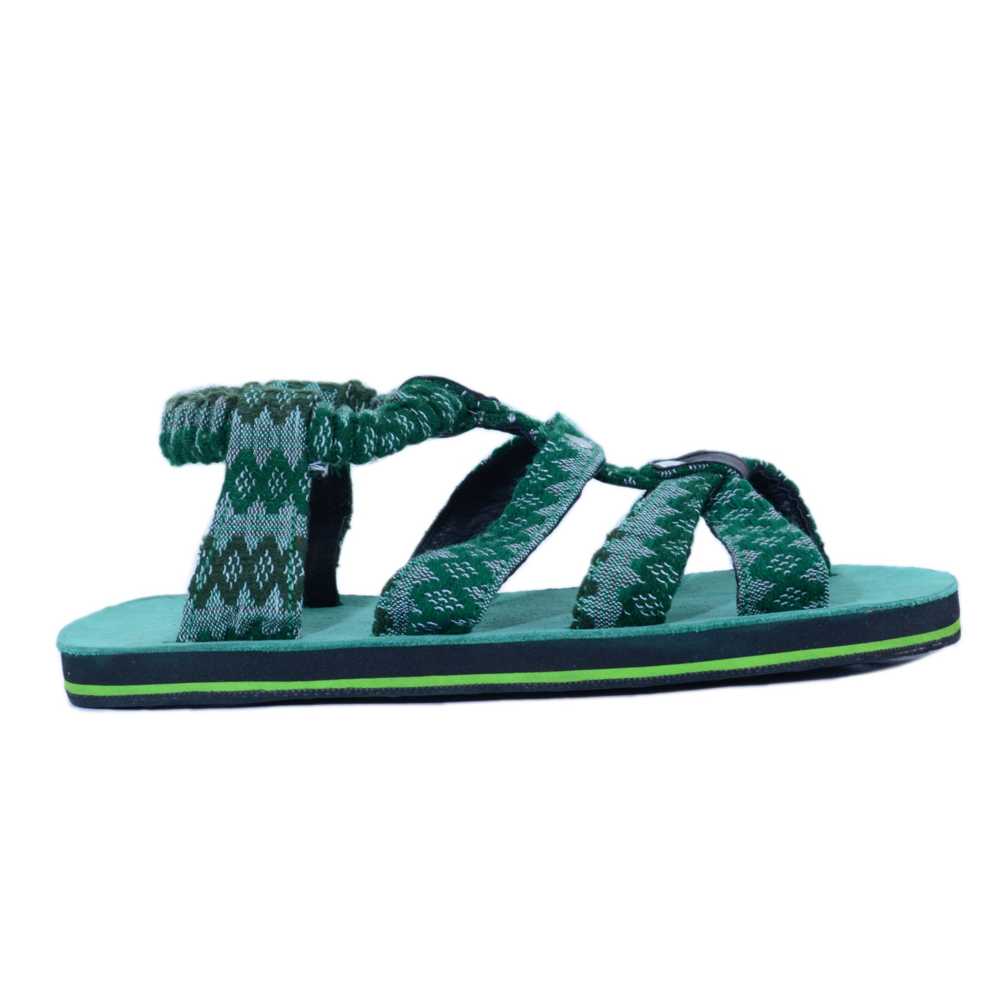 solerebels Green loop FREEDOM wyld Sandals