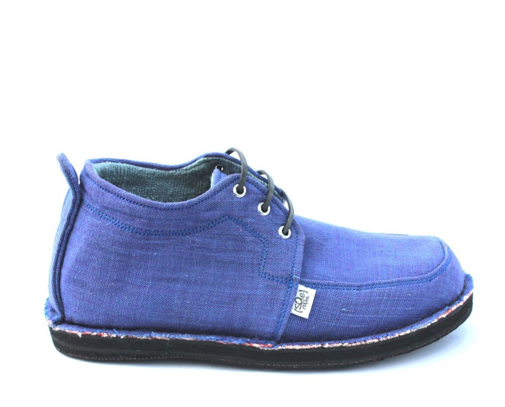 solerebels Blue range ridin upstart bKND Lace-Ups