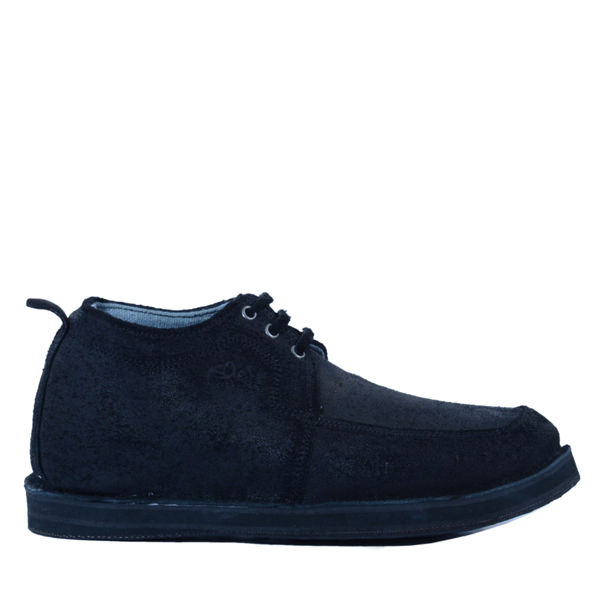 solerebels Black range ridin upstart 2 Lace-Ups