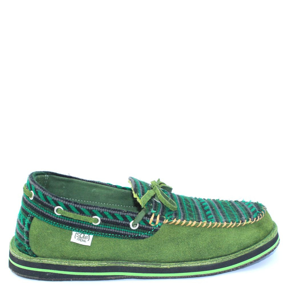 solerebels Green riff TALENT 2 Slip-Ons