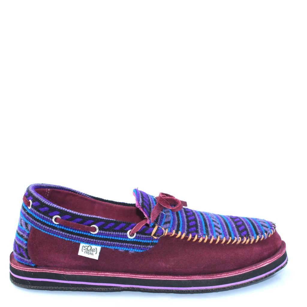 solerebels Purple riff TALENT 2 Slip-Ons