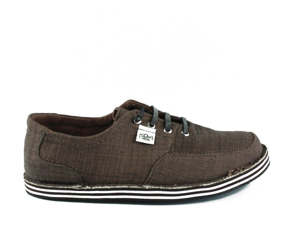solerebels Chestnut Brown runAROUND VISTA ed4 Lace-Ups