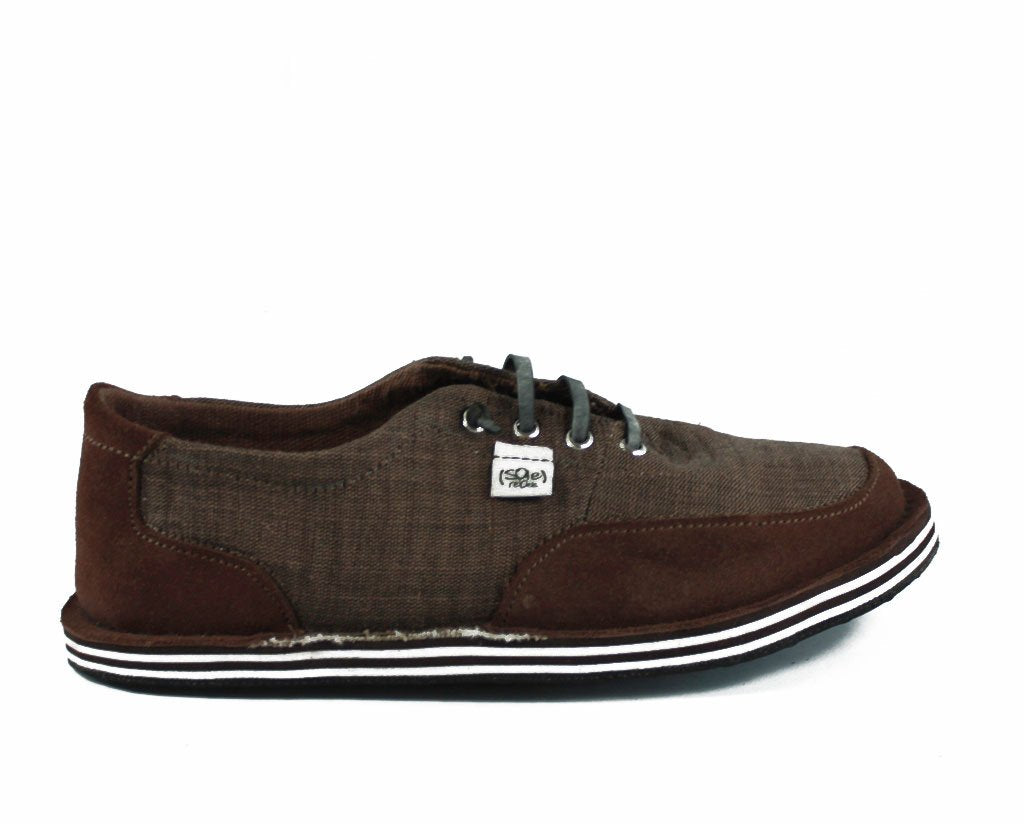 solerebels Chestnut Brown runAROUND VISTA ed6 Lace-Ups