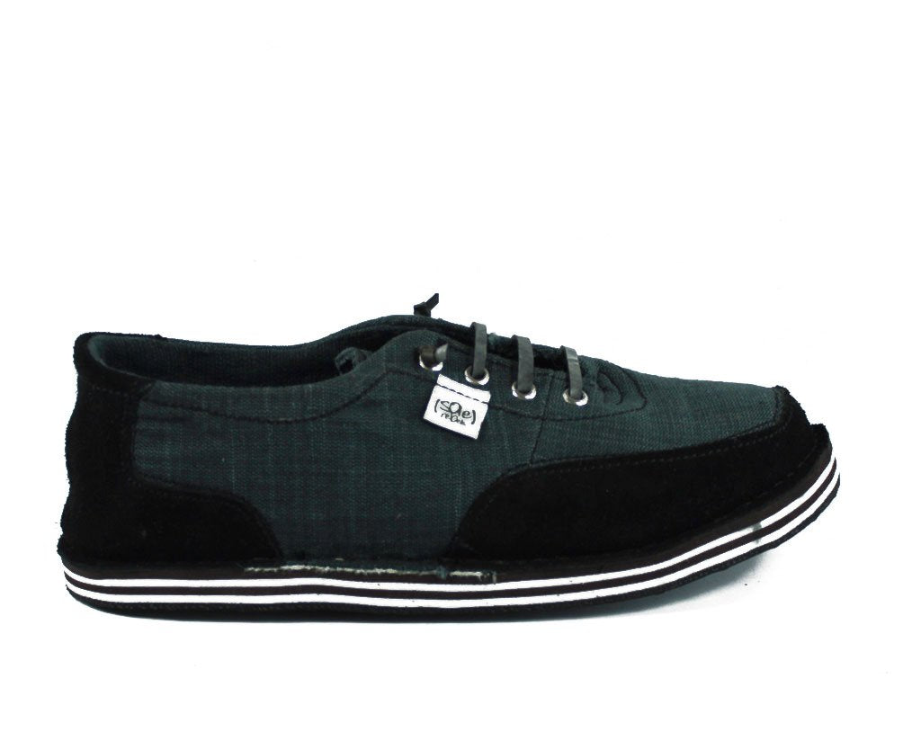 solerebels Charcoal Grey runAROUND VISTA ed6 Lace-Ups