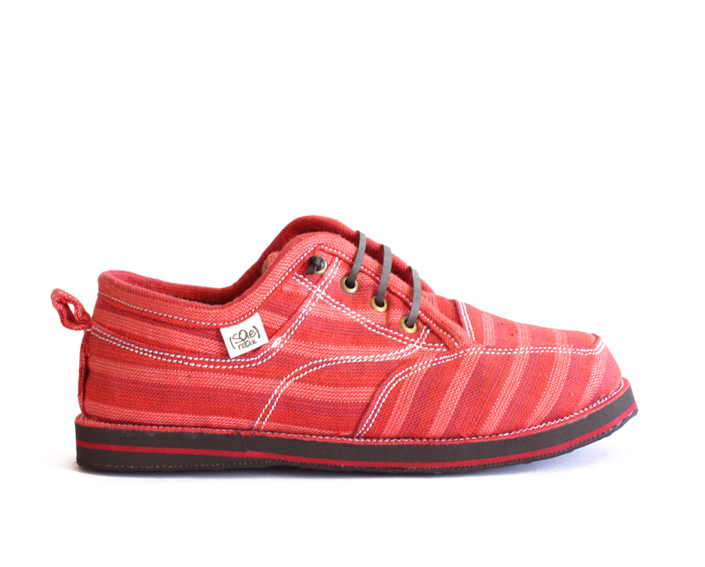 solerebels Red runAROUND freedom 5 msh Lace-Ups
