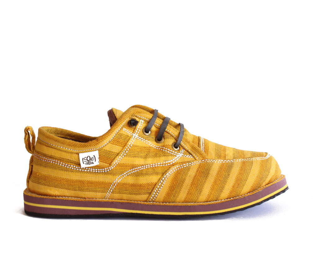 solerebels Yellow runAROUND freedom 5 msh Lace-Ups