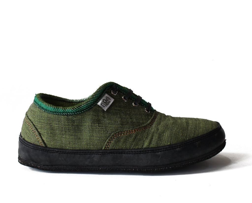 solerebels Forest Green run AROUND FULL on mSh s2 Lace-Ups