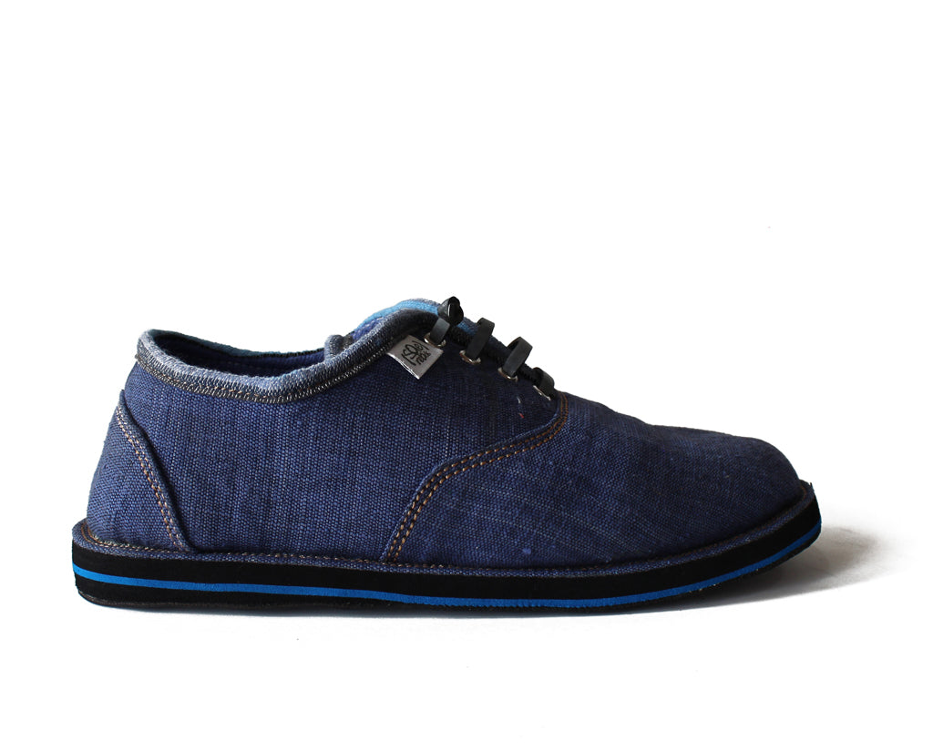 solerebels Denim Blue run AROUND FULL on msh s3 Lace-Ups