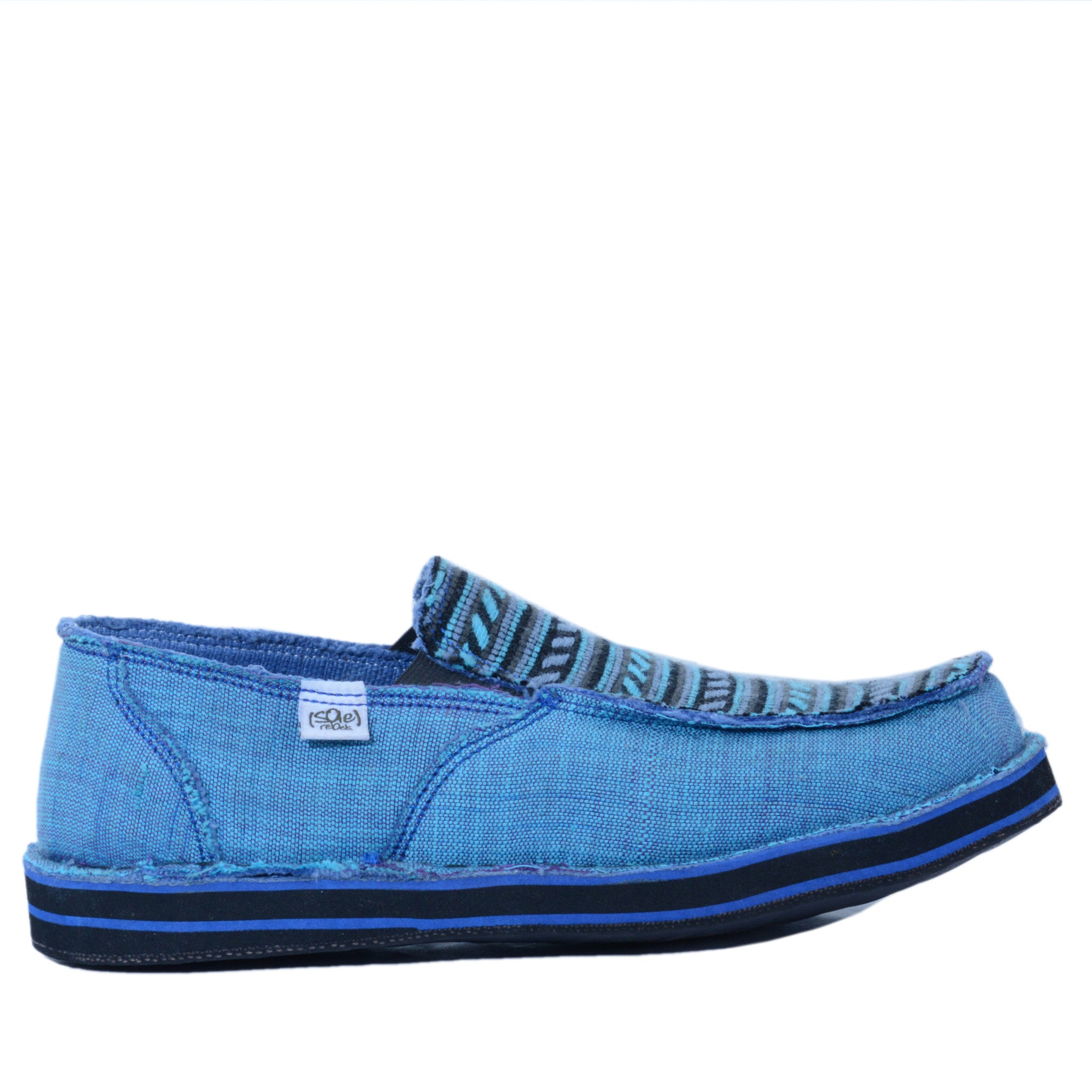 solerebels blue talent Slip-Ons