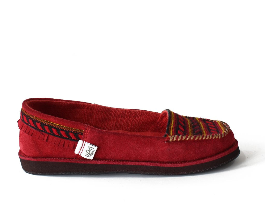 solerebels Cherry Red Suede tooTOOS nGst tooTOOs