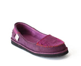 Plum Purple Suede
