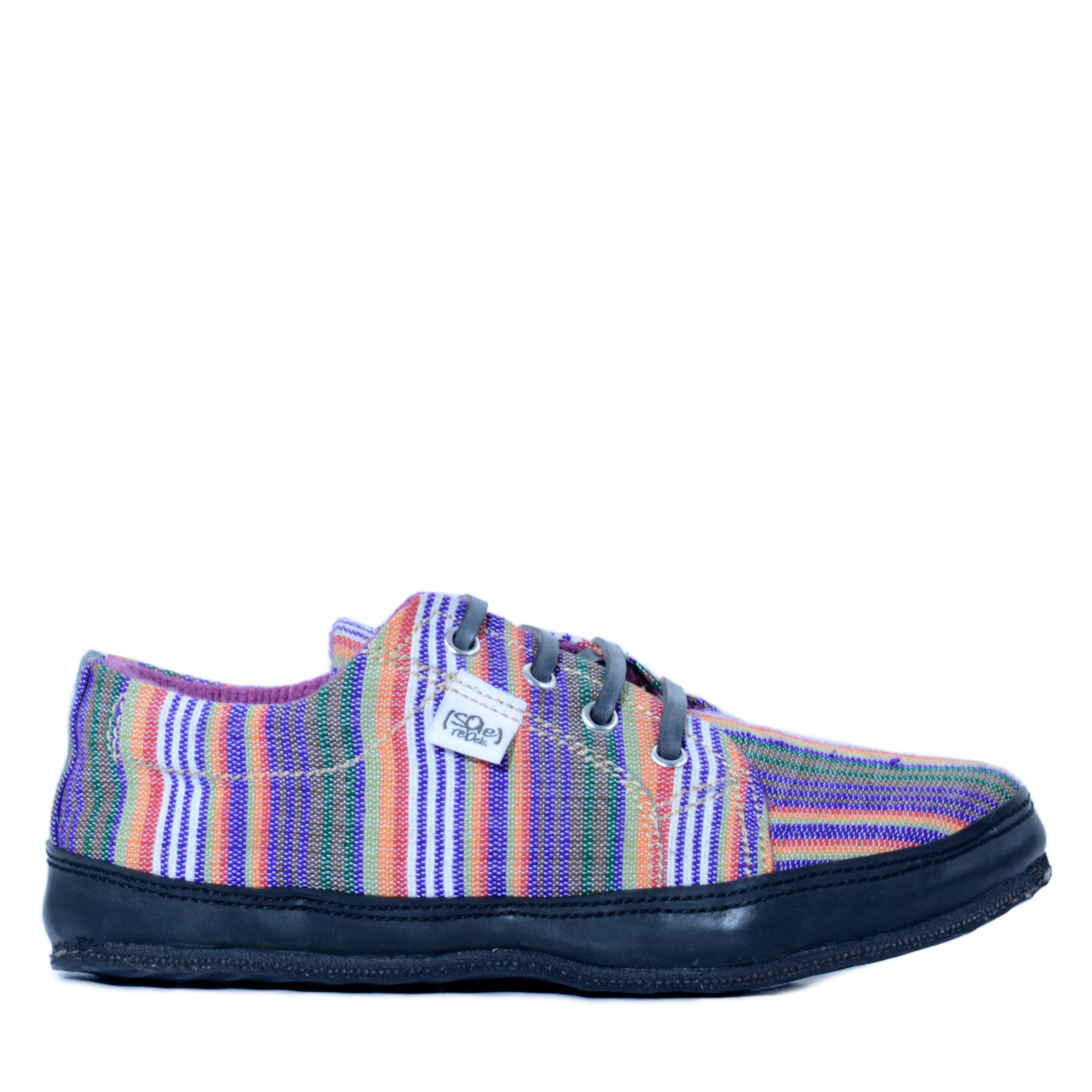 solerebels Purple urban runner FREEEK Lace-Ups